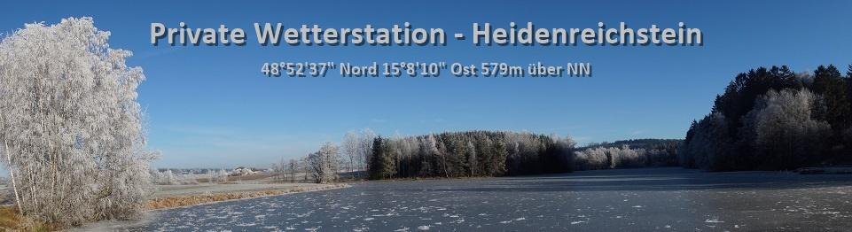 Private Wetterstation Heidenreichstein