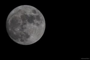 Mond am 24.12.2015